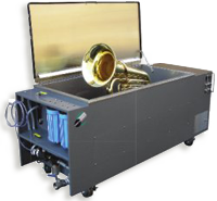Ultrasonic Cleaning at KBI Music Shoppe - Fredericksburg, Virginia